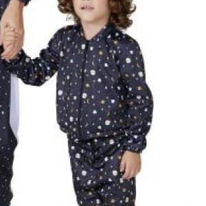 Jaqueta De Malha Estampada Infantil