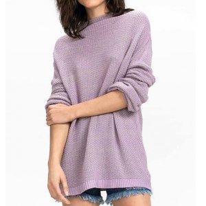 Suéter Em Tricô Com Shape Fluido
