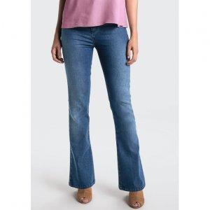 Calça Jeans Modelagem Boot Cut Petit