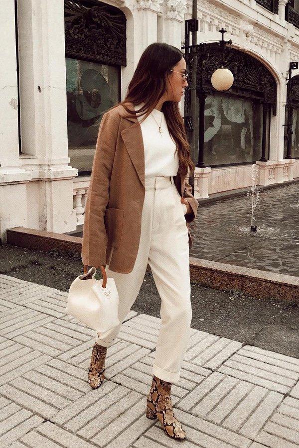 Ana Rey - alfataiaria - botas no office - inverno - street style