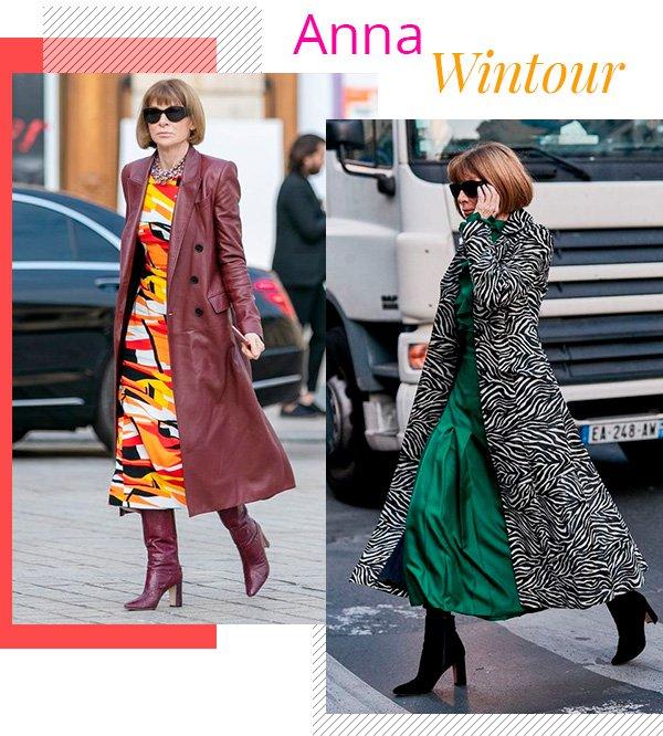 Anna Wintour - fashion - estilo sem idade - over 50 - tendências