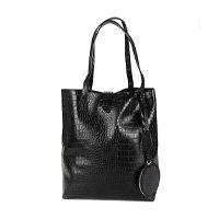 Bolsa Shoestock Shopper Note Croco Feminina