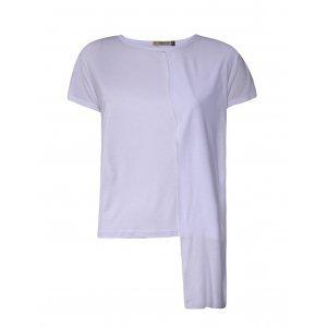 Camiseta Feminina Barra Assimétrica