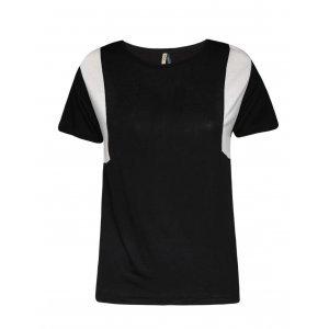 Camiseta Feminina Recortes