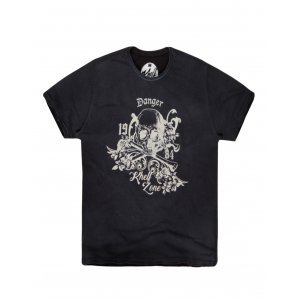Camiseta Masculina Caveira Danger