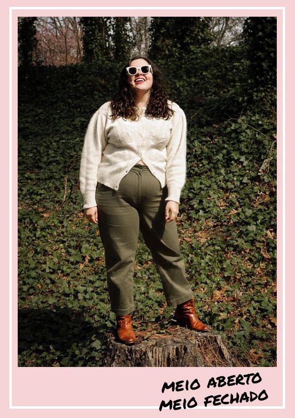 Ansley Morgan - cardigan - outono - inverno - looks