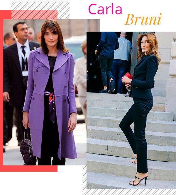 Carla Bruni - fashion - estilo sem idade - over 50 - tendências