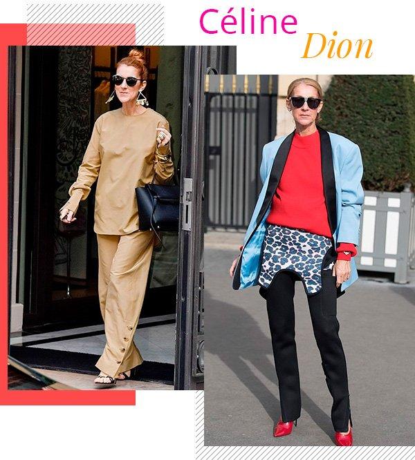 Céline Dion - fashion - estilo sem idade - over 50 - tendências
