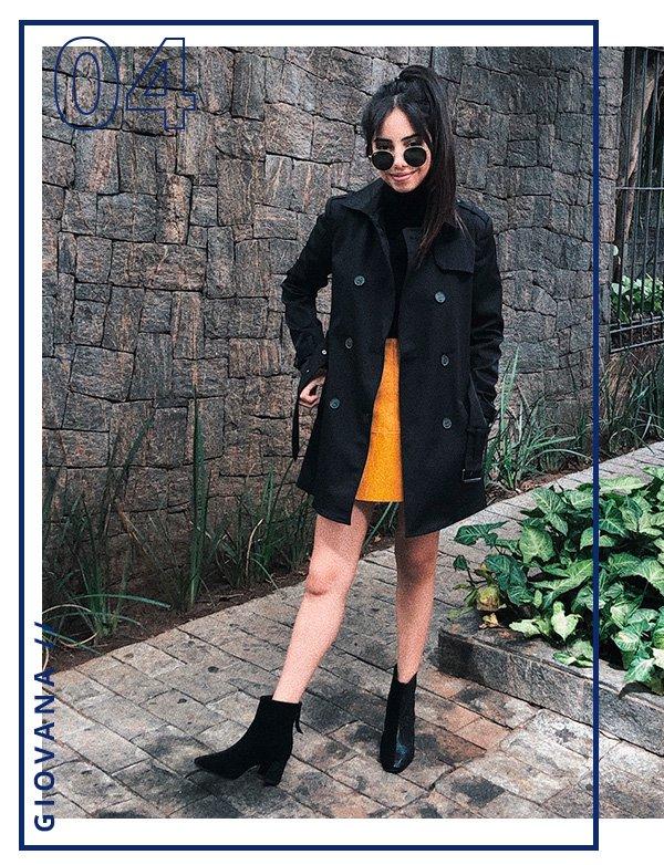 Giovanna - look - publi - amaro - trench coat