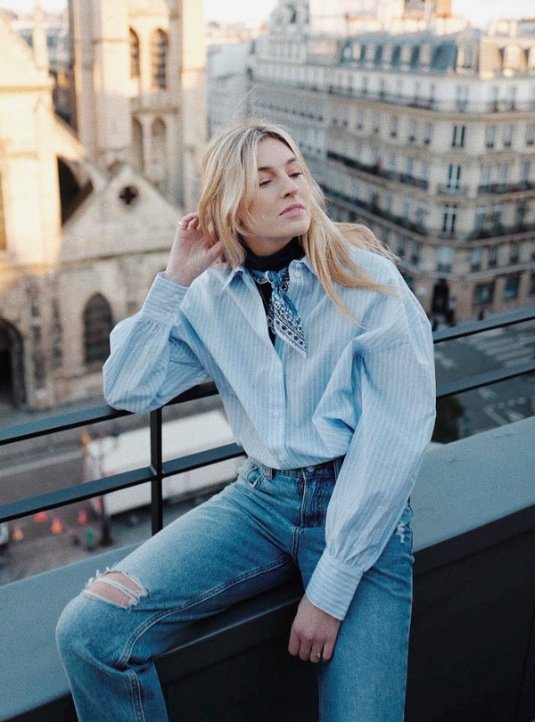 Camille Charriere - gola-alta - gola-alta - inverno - street-style