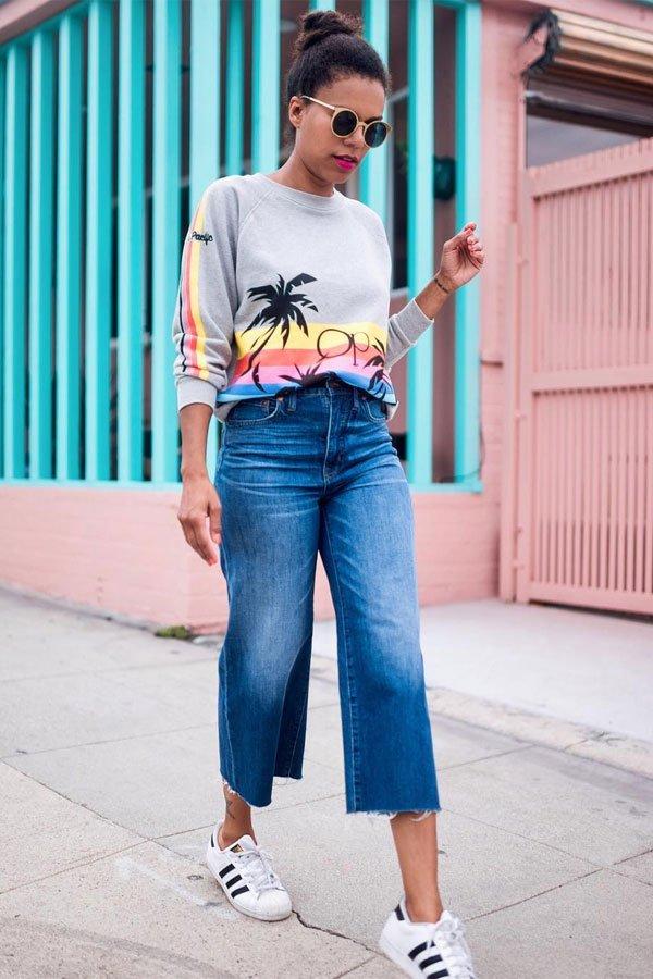 Grasie Mercedes - calça jeans - pantacourt jeans - inverno - street style