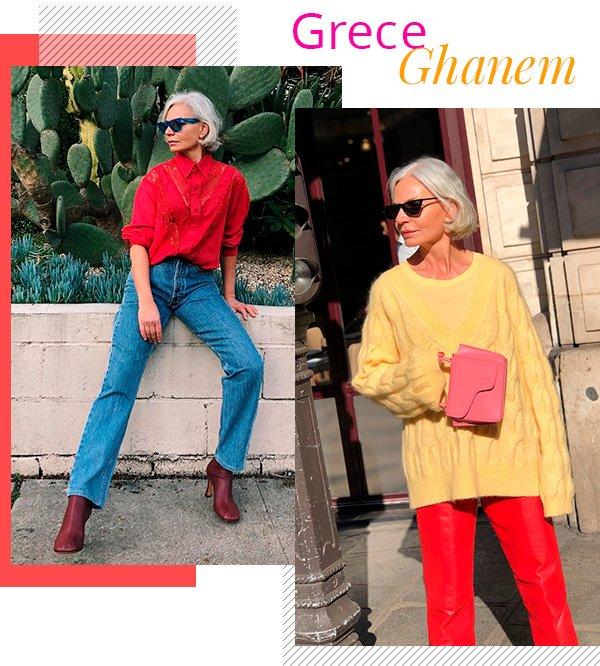 Greece Ghanem - over50 - mulheres mais velhas - inverno - tendência