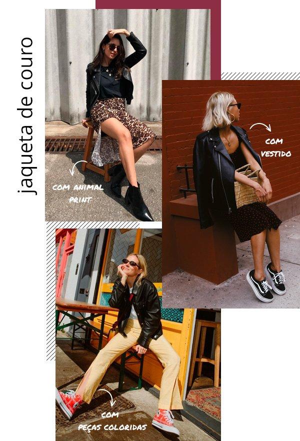 Vanessa Hong, Vic Hollo, Lucy Williams - jaqueta-de-couro - couro - inverno - street-style