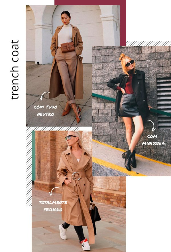 Aimee Song, Aline Santos - trench-coat - trench-coat - inverno - street-style