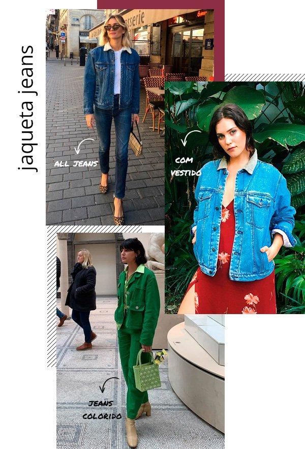 AnneLaure Mais Moreau, Ali Tate, Maria Bernard - jaqueta-jeans - jeans - inverno - street-style