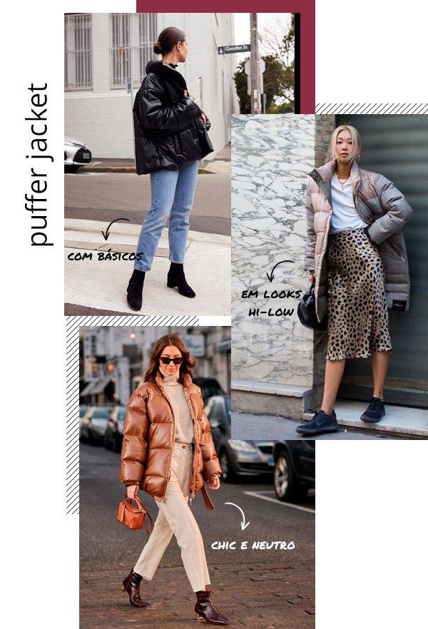 Sara Donaldson, Vanessa Hong, Felicia Akerstrom - puffer-jacket - puffer - inverno - street-style
