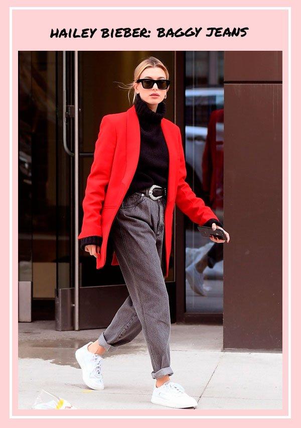 Hailey Baldwin - jeans - jeans - outono - street-style