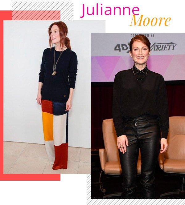 Julianne Moore - over50 - mulheres mais velhas - inverno - tendência