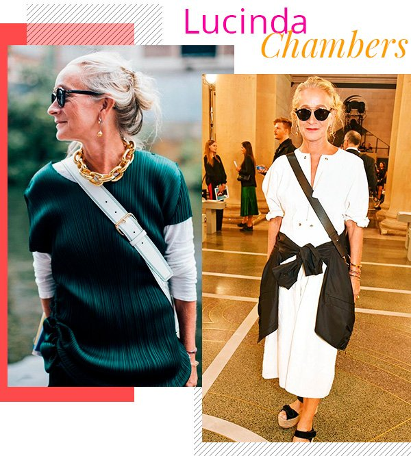 Lucinda Chambers - fashion - estilo sem idade - over 50 - tendências