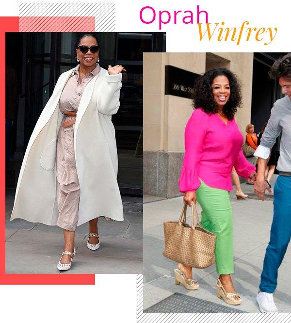 Oprah Winfrey - fashion - estilo sem idade - over 50 - tendências