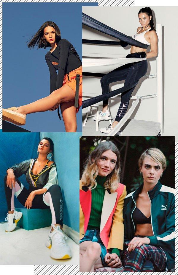 Cara Delevingne, Kylie Jenner, Selena Gomez - sportswear - sportswear - inverno - set