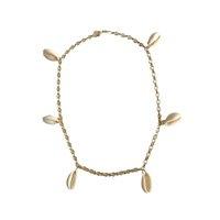 Coquillage Charm Necklace Tamanho: U - Cor: Dourado