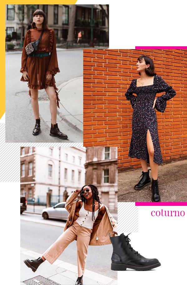 Natalie Lim Suarez, Angelica Bucci, Uzy Nwachukwu - coturno - coturno - inverno - street-style