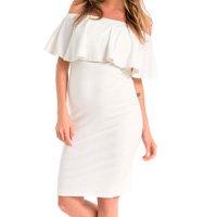 Vestido Amamentação Nina – Off White
