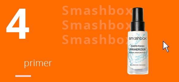 smashbox - produto - testado - aprovado - primer