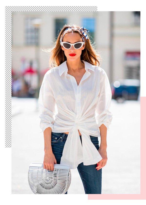 it-girl - camisa-branca - batom-vermelho - inverno - street-style