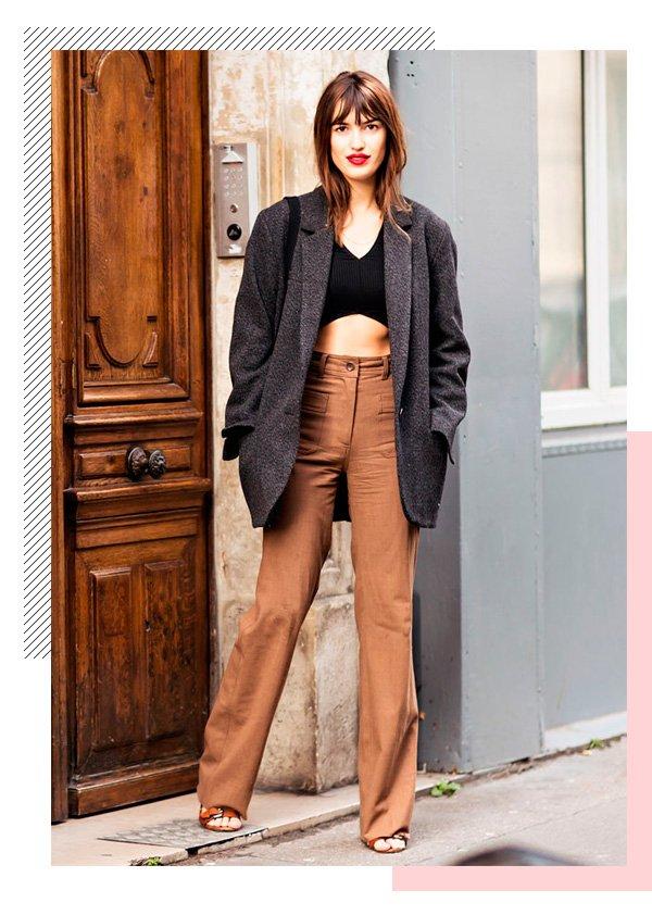 Jeanne Damas - alfaiataria - batom-vermelho - inverno - street-style