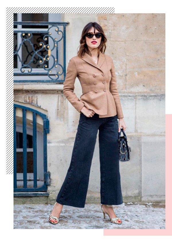 Jeanne Damas - blazer - batom-vermelho - inverno - street-style