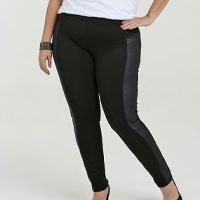 Calça Feminina Legging Recorte Plus Size