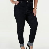 Calça Feminina Jeans Skinny Cintura Alta Plus Size Biotipo