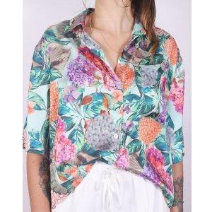 Camisa Hortênsia - M Multicolorido