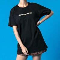 CAMISETA LOGO BLACK