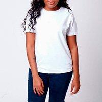 Camiseta Lisa Super Premium Camys Todo Dia Gola U