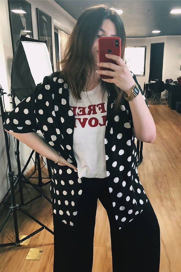 carol carlovich - camisa e t-shirt - camisa de manga curta - meia-estação - street style