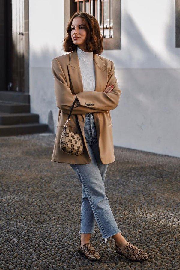 Carolina Nashtai - calça e turtleneck - turtleneck - inverno - street style