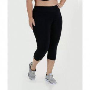 Calça Feminina Corsário Fitness Plus Size Marisa
