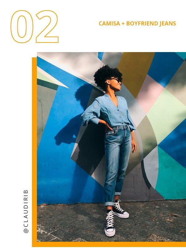 Claudiana Ribeiro - jeans - jeans - inverno - street-style