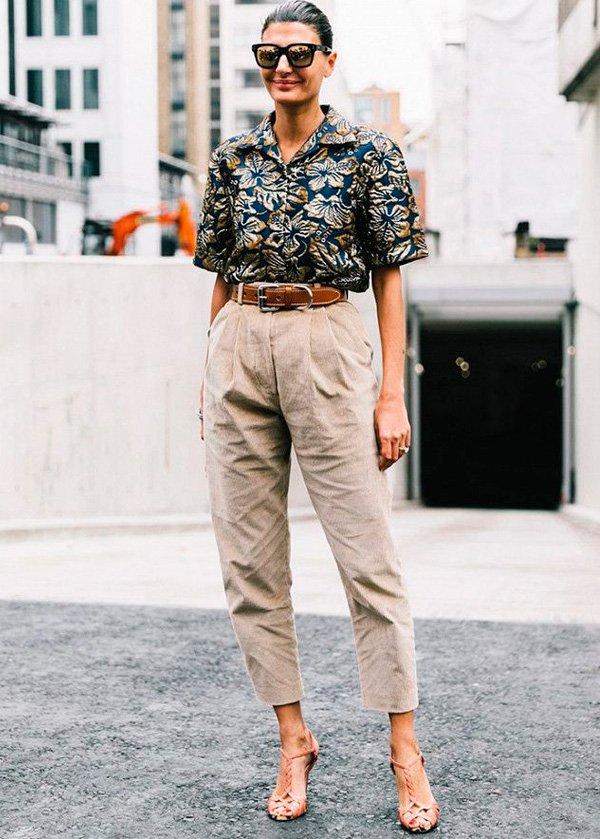 Giovanna Battaglia - calca-bege - bege - inverno - street-style