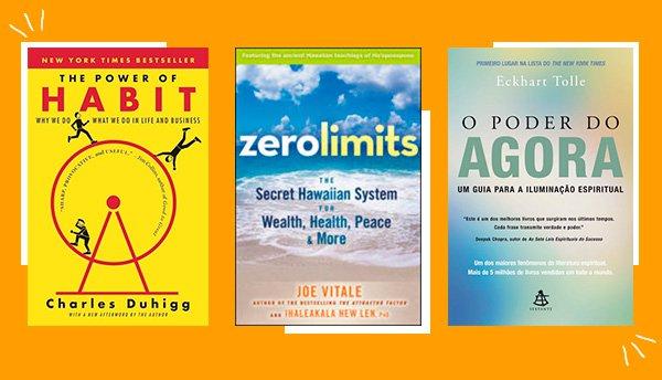 livros - catha - auto - ajuda - comida