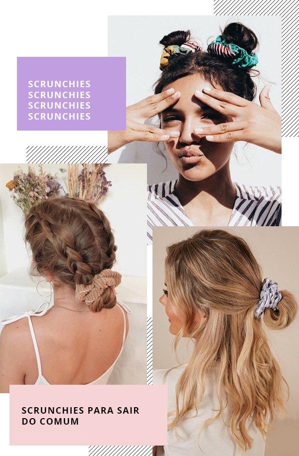 reprodução pinterest -      - scrunchies -      -