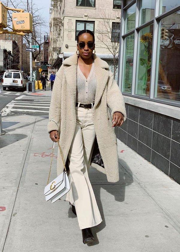 Chrissy Rutherford - sobretudo - sobretudo - inverno - street-style
