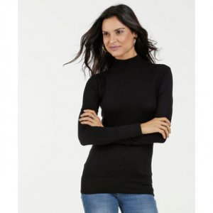 Suéter Feminino Gola Alta Manga Longa Marisa