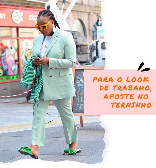 Ada Oguntodu - terninho - tons pastel - inverno - street-style