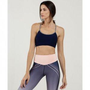 Top Feminino Nadador Strappy Fitness Marisa