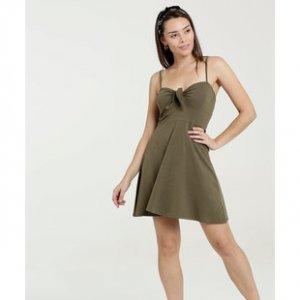 Vestido Feminino Laço Alças Finas Marisa