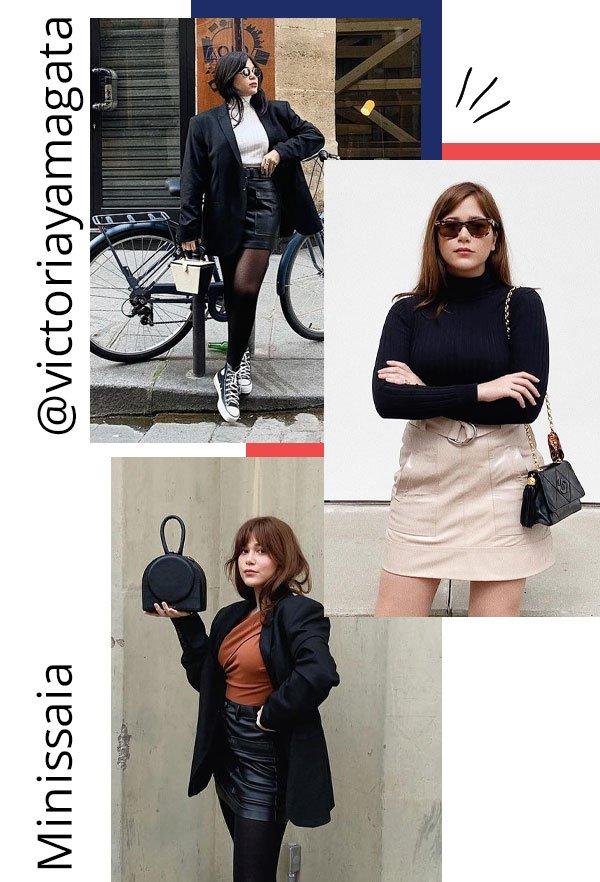 Victoria Yamagata - saia curta - minissaia - outono - street style